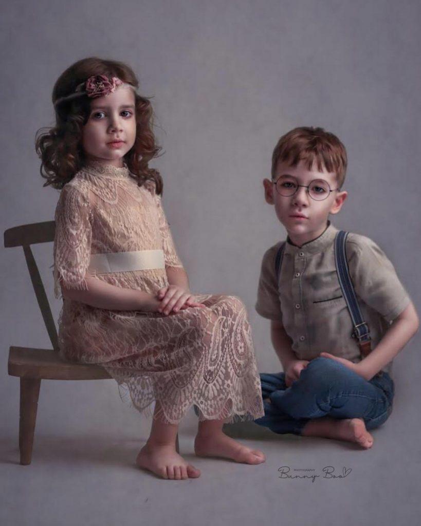 fine art portre fotoğraf kardeş pozları