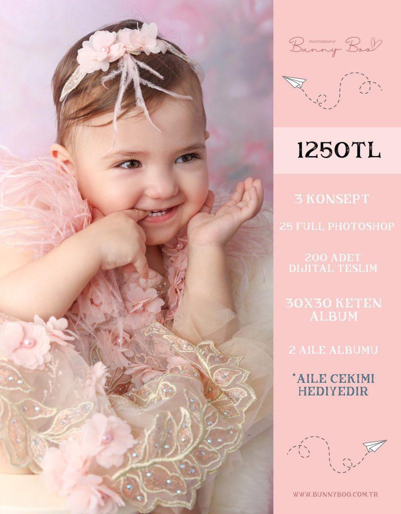 1 yaş bebek fotoğraf çekimi fiyatı